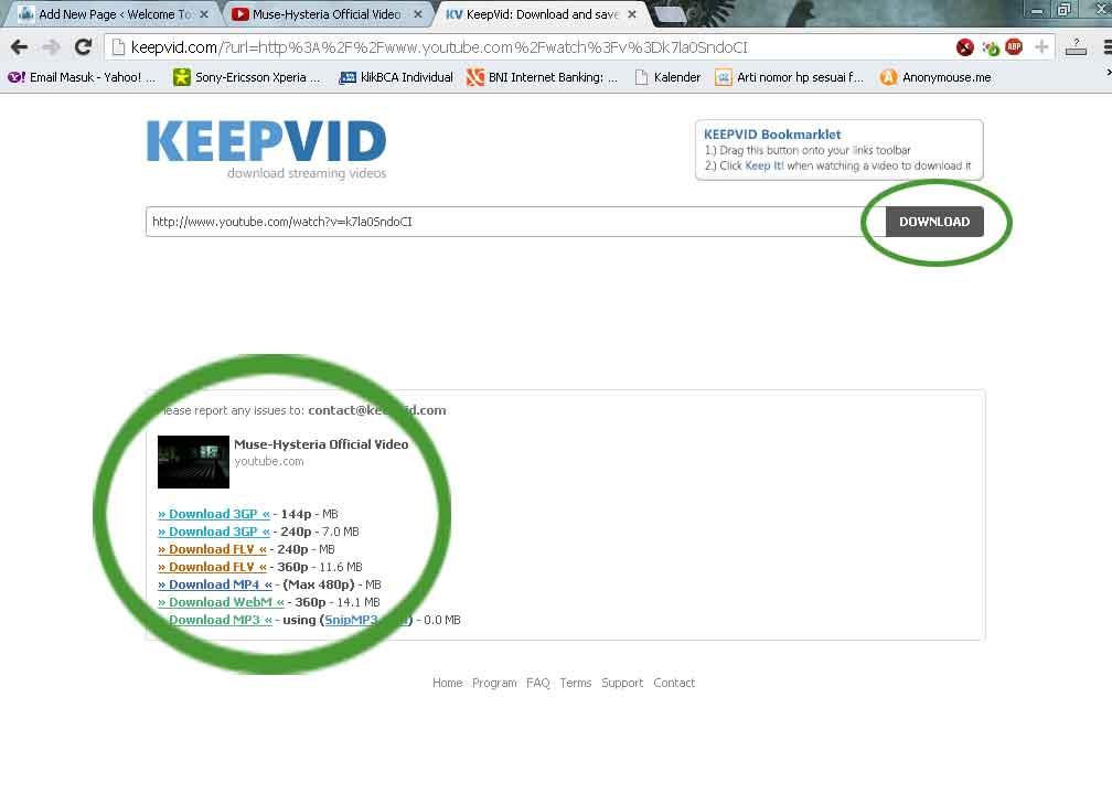 Cara Mendownload Video dari Youtube 2013 | Welcome To